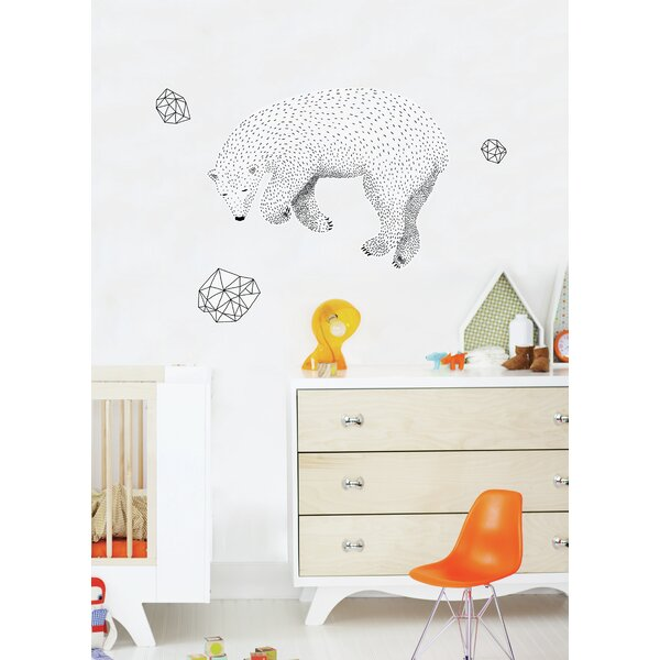 Piccolo Polar Bear Wall Decal by ADZif