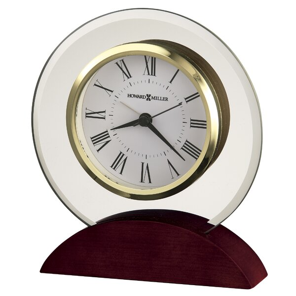 Dana Table Alarm Clock by Howard Miller®