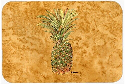 Pineapple Kitchen/Bath Mat by Caroline's Treasures