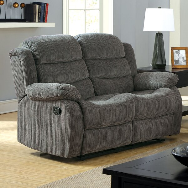 Clearance Fergstein Reclining Loveseat by Hokku Designs by Hokku Designs