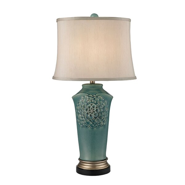 Organic Flowers 31 Table Lamp by Alcott Hill