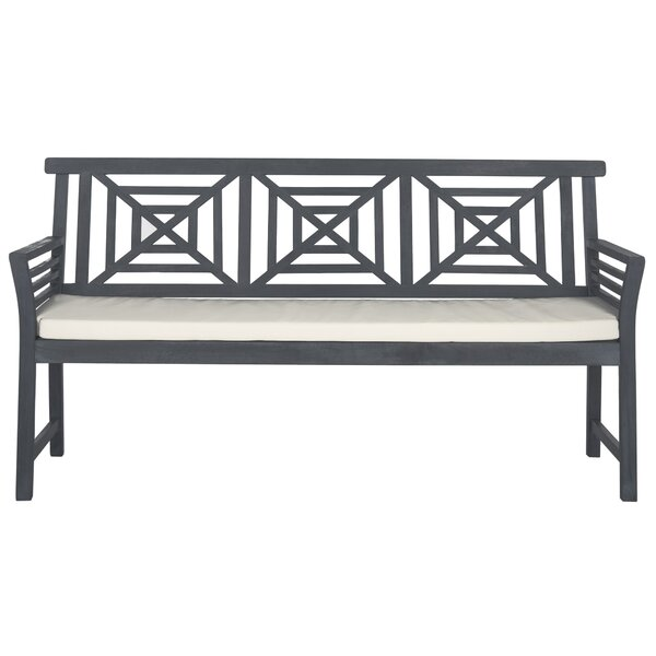 Garrity Wooden Garden Bench By Darby Home Co by Darby Home Co Coupon