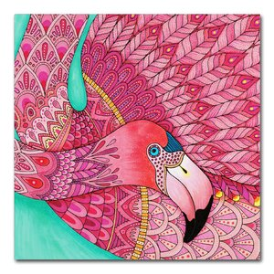 Hello Angel 'Tropical Paradise 33 Color' Drawing Print on Wrapped Canvas by Trademark Fine Art