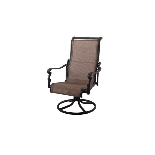 Bagwell Swivel Patio Dining Chair by Darby Home Co