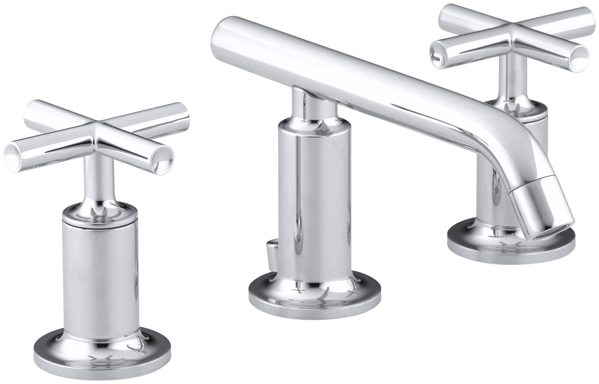 K-14410-3-BGD,BL,BN Kohler Purist Widespread Bathroom Sink Faucet ...