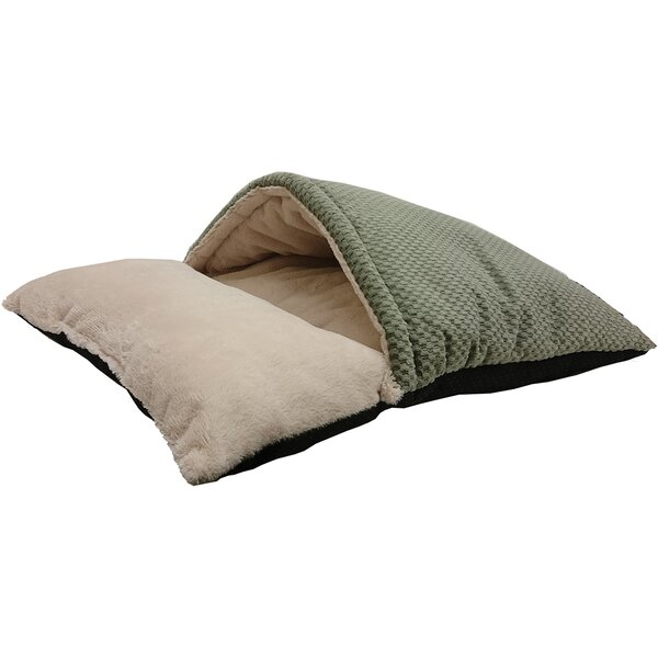 Sleep Zone Burrow Hooded Dog Bed by Ethical Pet