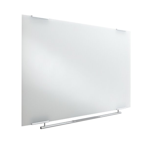 Collaboration Boards Clarity Too Dry Erase Wall Mounted Glass Board by Iceberg Enterprises