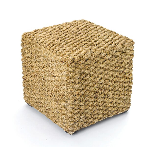 Brightwell Woven Square Stool by Beachcrest Home