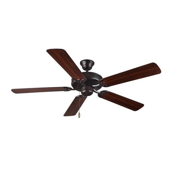 52 HomeBuilder I 5 Blade Ceiling Fan by Monte Carlo Fan Company