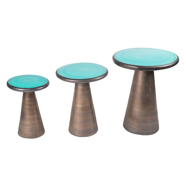 Segment 3 Piece Nesting Tables by Seasonal Living