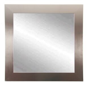 Read Reviews Woodruff Square Wall Mirror By Orren Ellis