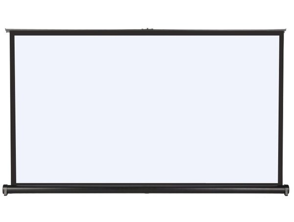 ProHT Matte White 50 Diagonal Portable Projection Screen by Inland Products