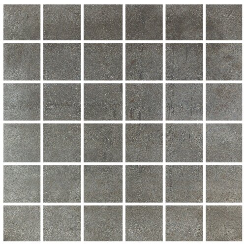 Varese 2 x 2 Porcelain Mosaic Tile in Grafite by Madrid Ceramics