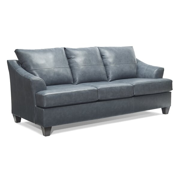 Stivers Leather Sofa by Ivy Bronx