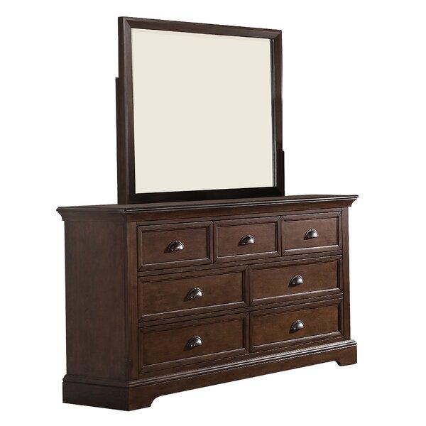 Appleby 7 Drawer Dresser with Mirror by Greyleigh