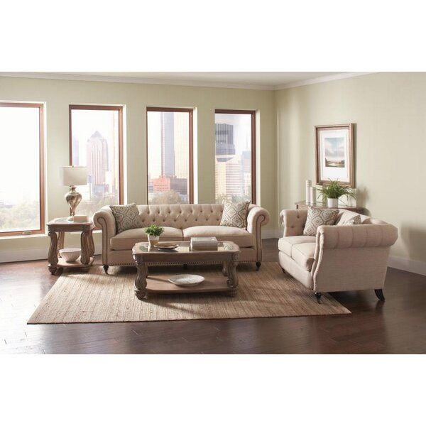 Tallulah 2 Piece Living Room Set by One Allium Way