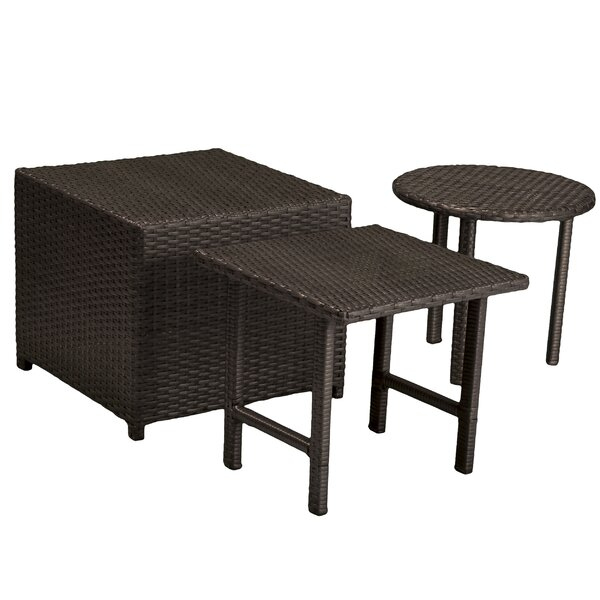Jakarta Wicker Table Set by Home Loft Concepts