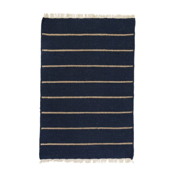 Warby Navy Area Rug