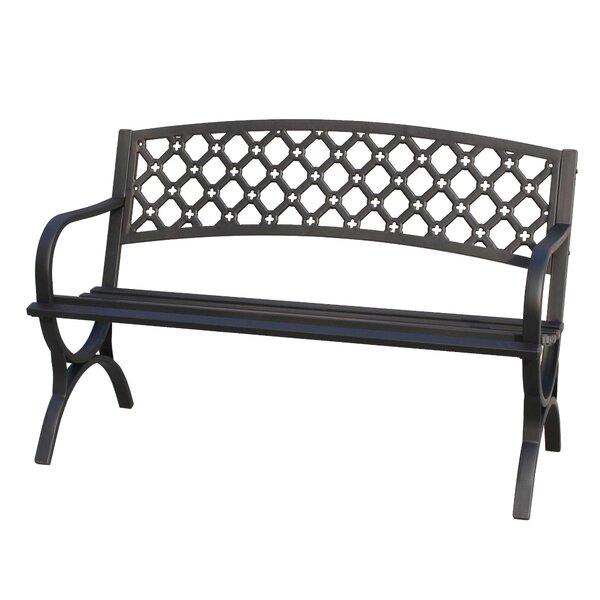 Verwood Steel Garden Bench by Freeport Park Freeport Park