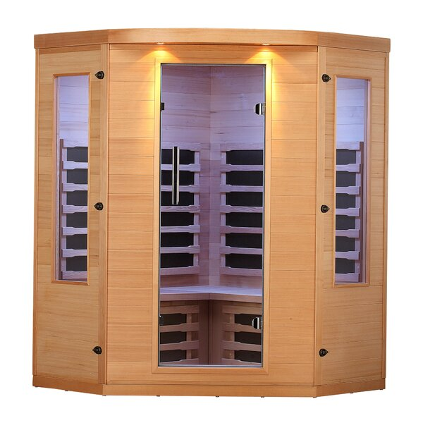 Aspen 4 Person FAR Infrared Sauna by Canadian Spa Co