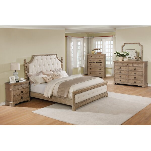 Pennington 4 Piece Configurable Bedroom Set by One Allium Way