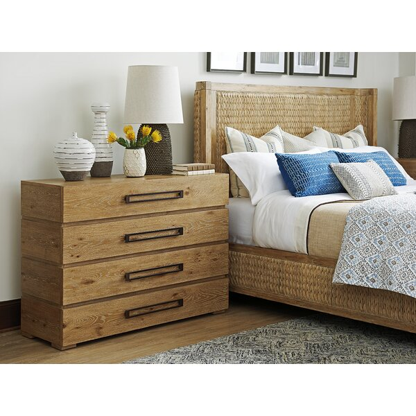 Los Altos 4 Drawer Dresser by Tommy Bahama Home