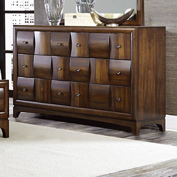Ainslie Brook 6 Drawer Dresser by World Menagerie