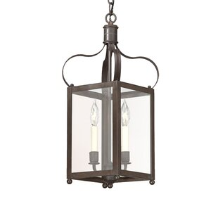Comparison Kareen 2-Light Outdoor Pendant By Darby Home Co