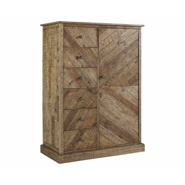 Jessamine 6 Drawer Gentleman's Chest by Gracie Oaks