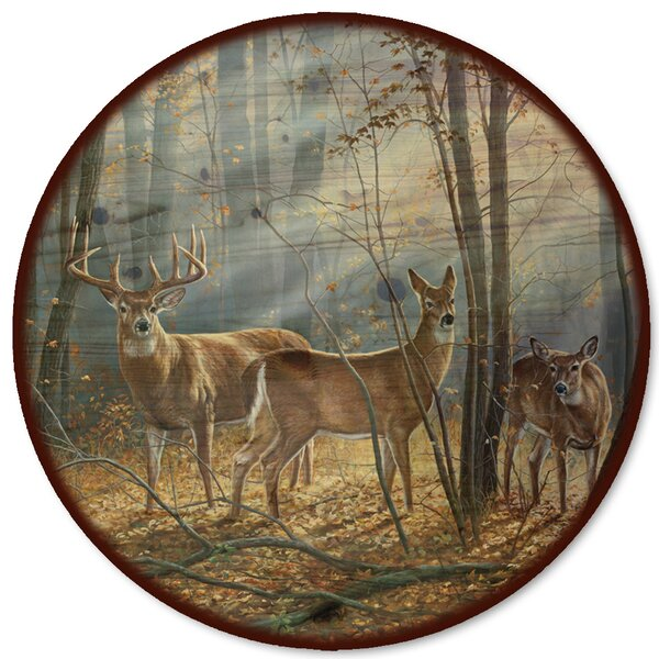 Woodland Splendor Lazy Susan by WGI-GALLERY