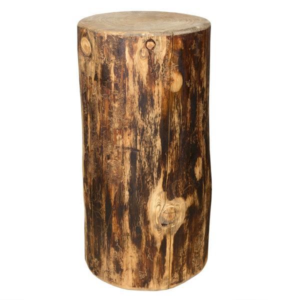 Tustin Cowboy Stump End Table by Loon Peak