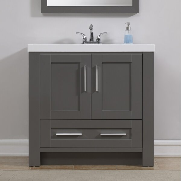 Cedeno 35 Single Bathroom Vanity Set by Ebern Desi
