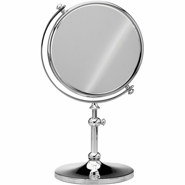 Dinsmore Round Double-Sided Makeup/Shaving Mirror by Darby Home Co