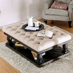 Blackfriars Coffee Table with Cushion Top Canora Grey