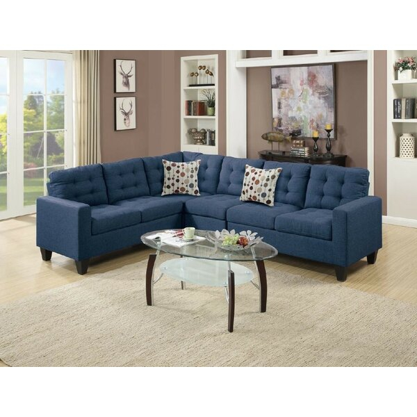 Bargains Newton Left Hand Facing St Loe Sectional by Latitude Run by Latitude Run