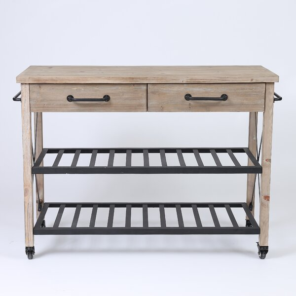 Adelbert 2 Drawer Bar Cart by Trent Austin Design