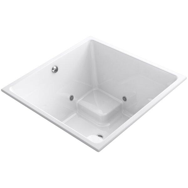 Underscore Vibracoustic 48 x 48 Whirpool Bathtub by Kohler