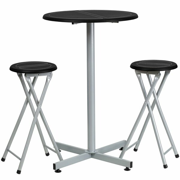 Kuehn 3 Piece Pub Table Set by Symple Stuff Symple Stuff