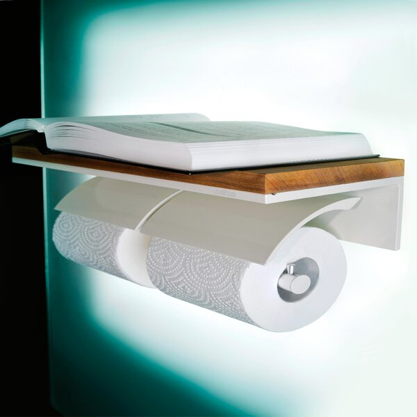 Double Wall Mount Toilet Paper Holder