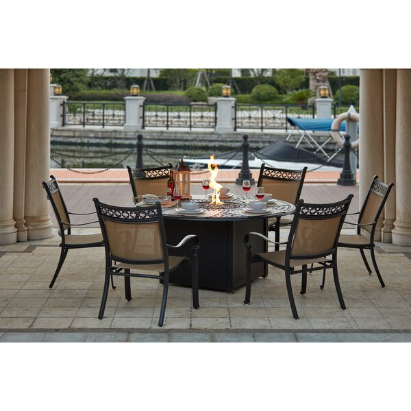 Wabon 7 Piece Dining Set by Darby Home Co