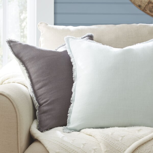 Harmony Linen Pillow Cover by Birch Lane™