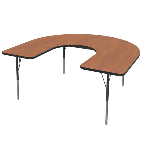66 x 60 Horseshoe Activity Table by Marco Group Inc.