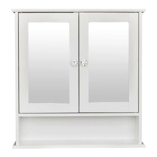 Arnissa 22'' W x 23'' H x 5'' D Wall Mounted Bathroom Cabinet