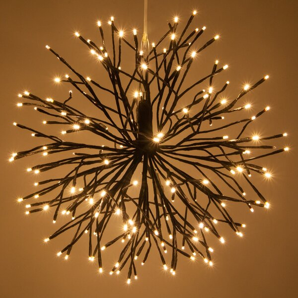 LED Twinkle Light Starburst Branches Strobe Lighting with Hook by The Holiday Aisle