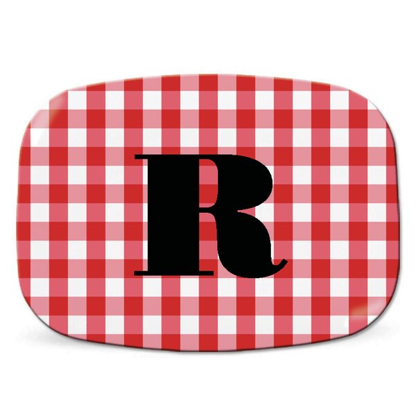 Melamine Personalized Platter by Wildon Home ®