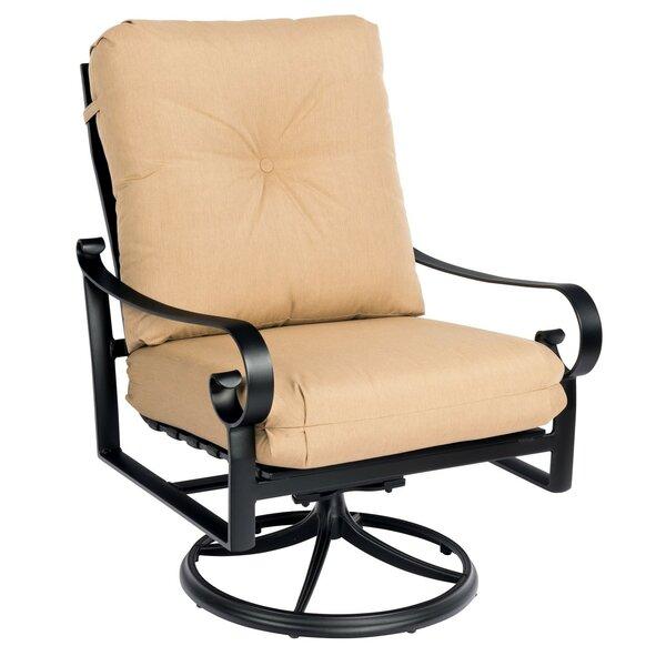 Belden Big Mans Swivel Rocking Patio Chair by Woodard