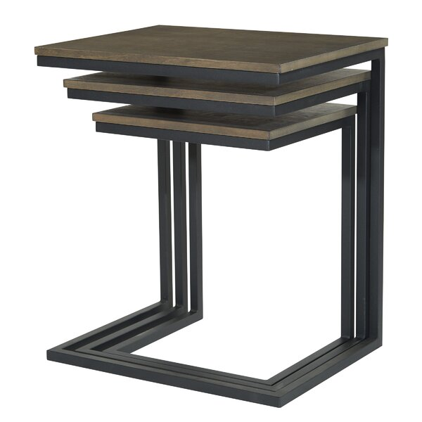 Darrell Sled Nesting Tables (Set Of 3) By Wrought Studio