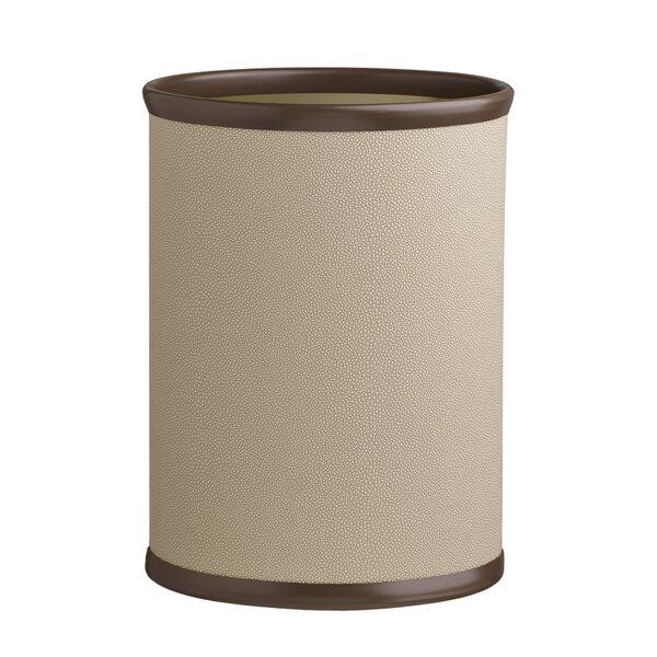 Wilbraham 3.25 Gallon Waste Basket by Charlton Home