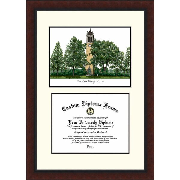 NCAA Iowa State University Legacy Scholar Diploma Picture Frame by Campus Images