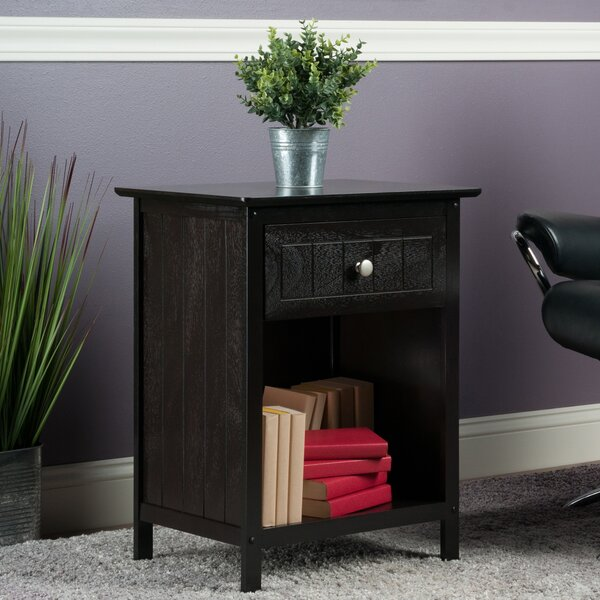 Bonar End Table with Storage by Charlton Home